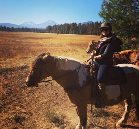 Riding at Black Butte Ranch Stables