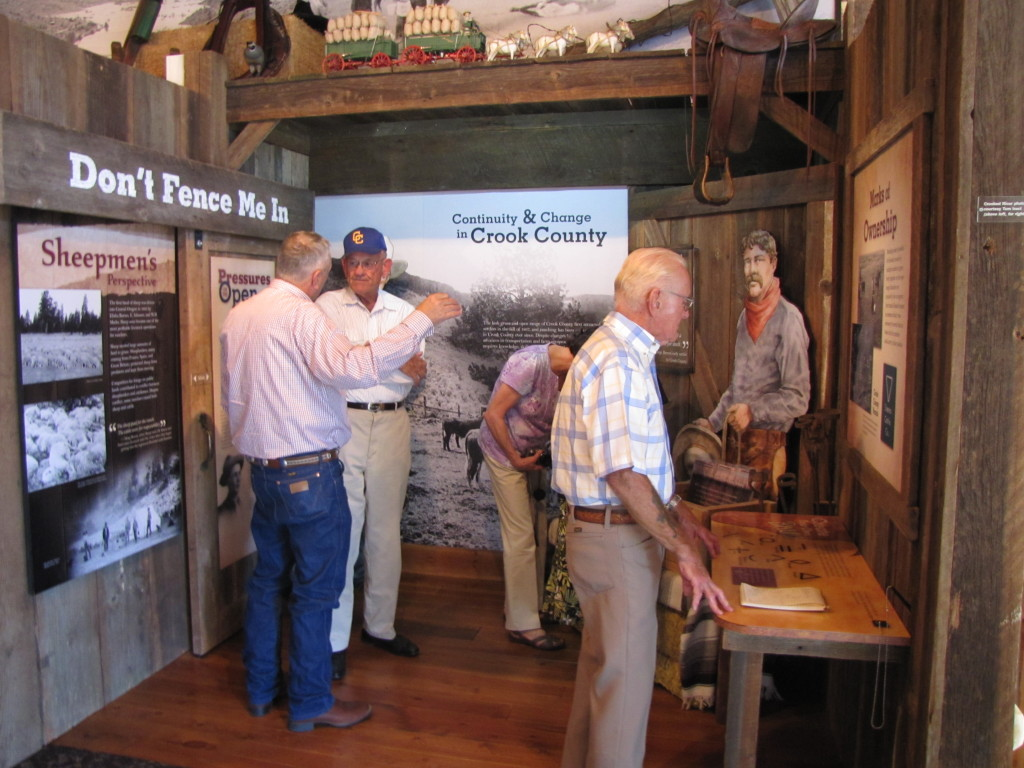The interior of the Bowman Museum is filled with articles from the communities rich past, along with well designed rotating displays focused on specific areas of the region's history.