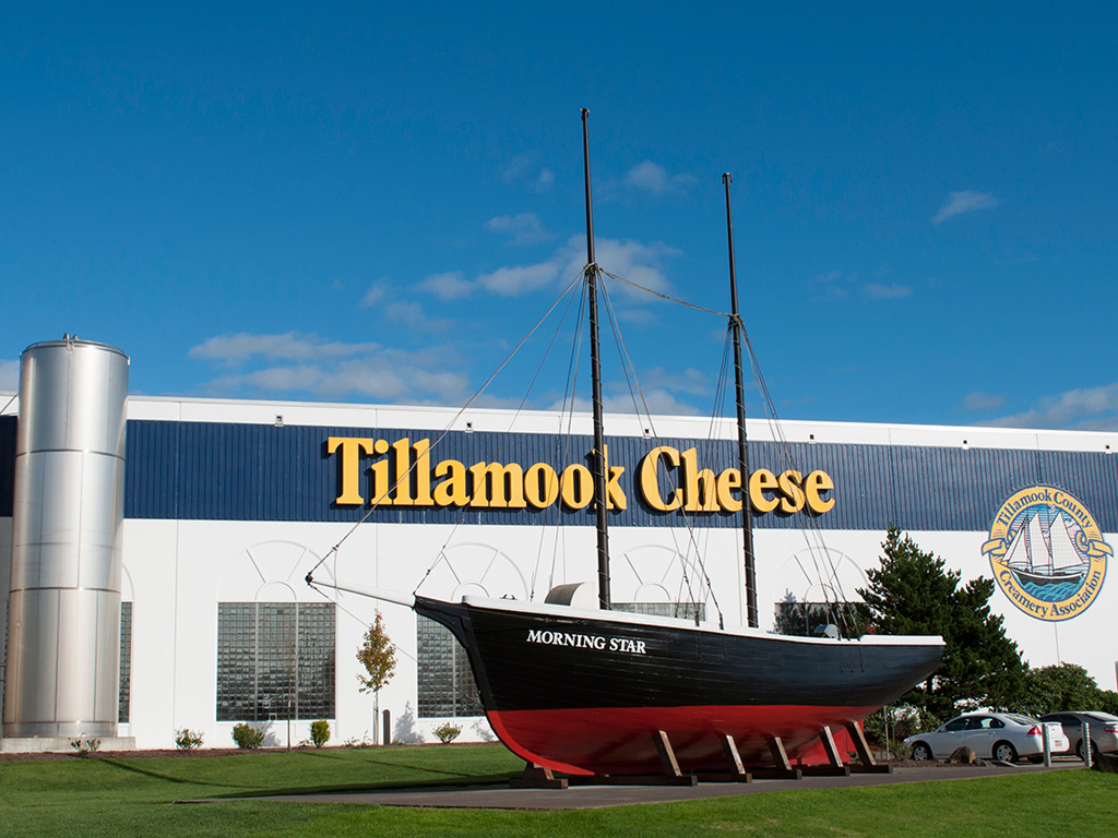 Image Courtesy of Tillamook Cheese Factory